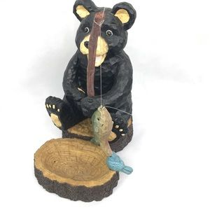 Bear Cub With his Fishing Pole